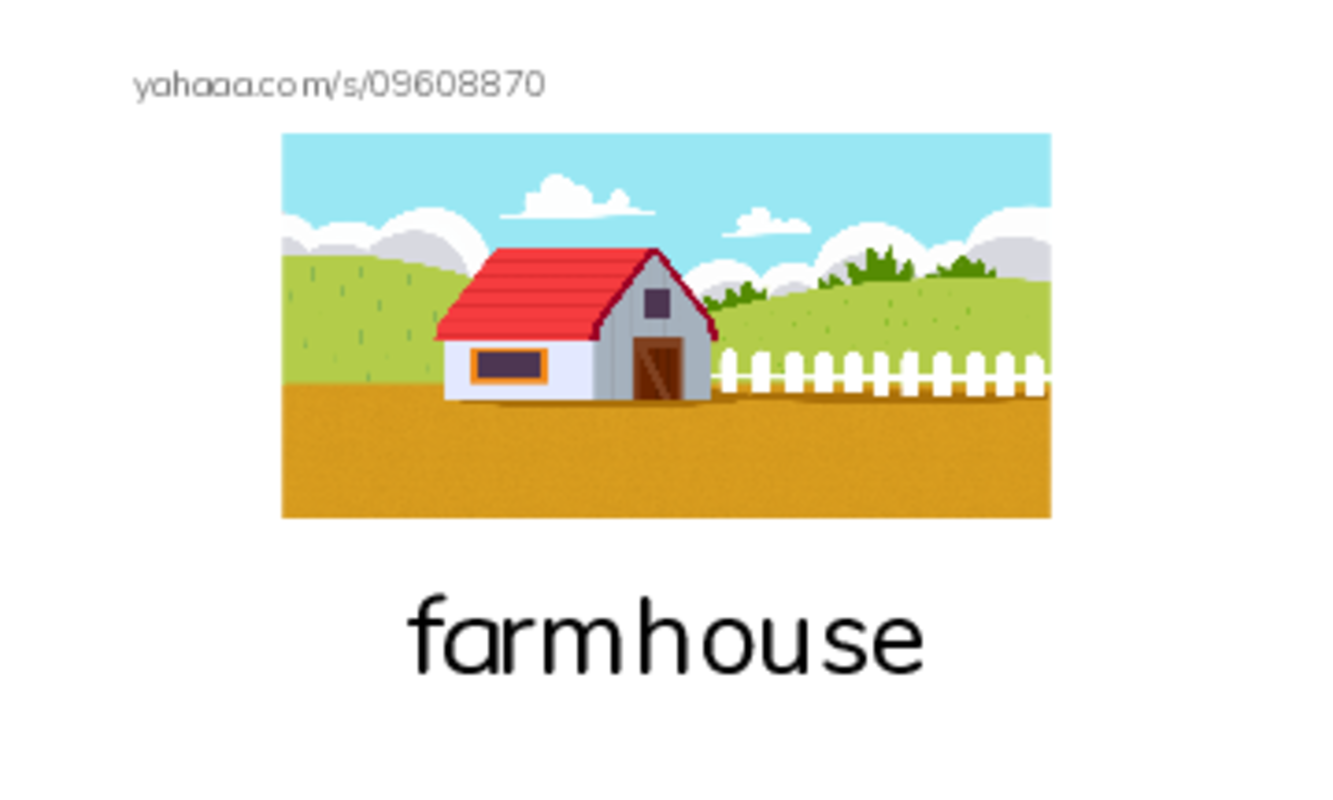 Farm PDF index cards with images