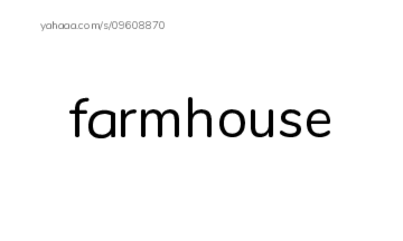 Farm PDF index cards word only